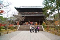 jien nanzen tempelet fotografering för bildbyråer