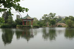 Jieyang West Lake Royalty Free Stock Photos