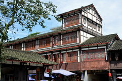 Jiezi, China: Centuries-old Buildings Stock Photos