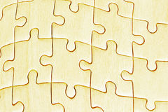 Jig saw puzzles Stock Image