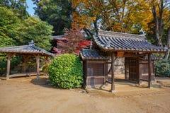 Jigen-делает святыня на саде Koraku-en в Okayama Стоковые Изображения RF