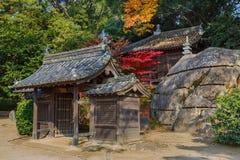 Jigen-do Shrine at Koraku-en garden in Okayama Stock Images
