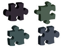 Jigsaw 01 Royalty Free Stock Image