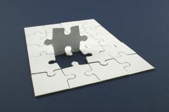Jigsaw Royalty Free Stock Image