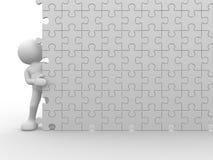 Jigsaw Stock Image