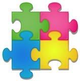 Jigsaw Arkivbild