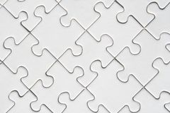 Jigsaw background Stock Images