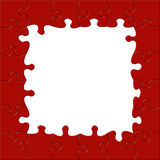 Jigsaw Border Royalty Free Stock Images