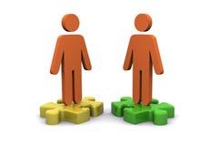 Jigsaw (business) Royalty Free Stock Image