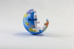 Jigsaw Earth Royalty Free Stock Images