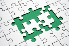 Jigsaw elements royalty free stock images