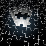 Jigsaw: the missing piece Stock Images