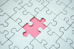 Jigsaw pattern Stock Photo