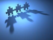 Jigsaw piece Royalty Free Stock Image