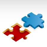 Jigsaw piece Royalty Free Stock Images