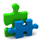 Jigsaw Pieces. 