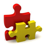 Jigsaw Pieces Stock Photos