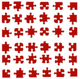 Jigsaw Pieces Royalty Free Stock Photography
