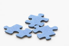 Jigsaw pieces Stock Photo