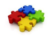 Jigsaw puzzle Royalty Free Stock Image