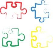 Jigsaw Puzzle Stock Photos