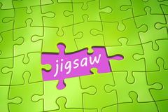 Jigsaw puzzle Royalty Free Stock Images