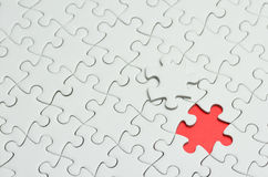 Jigsaw Puzzle. Royalty Free Stock Images