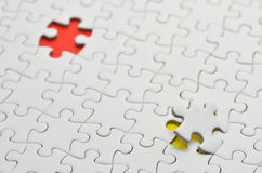Jigsaw puzzle. Stock Images