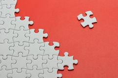 Jigsaw puzzle. Stock Photography