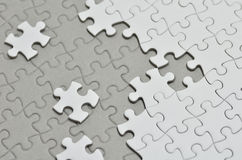 Jigsaw puzzle. Stock Photos