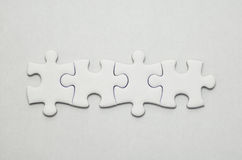 Jigsaw puzzle. Royalty Free Stock Photography