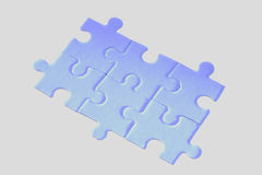 Jigsaw puzzle. A jigsaw puzzle makes a good metaphor for any problem to solve Royalty Free Stock Image