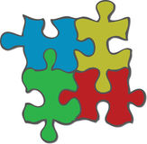 Jigsaw Puzzle. A fully scalable vector illustration of a jigsaw puzzle. Jpeg, Illustrator AI and EPS 8.0 files included vector illustration