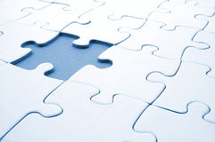 Jigsaw or puzzle Stock Image