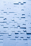 Jigsaw puzzle background Stock Photos