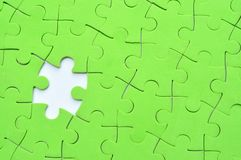 Jigsaw puzzle background Stock Photography