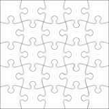 Jigsaw puzzle. Background Vector Illustration jigsaw puzzle Royalty Free Stock Photo