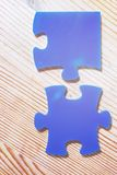 Jigsaw puzzle business concept royalty free stock images