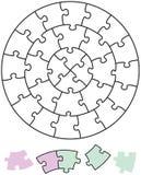 Jigsaw Puzzle Circles Royalty Free Stock Image