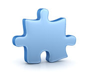 Jigsaw Puzzle. This is a computer generated and 3d rendered picture Stock Images