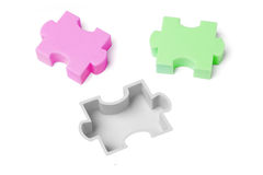Jigsaw puzzle concept Stock Image