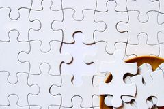 Jigsaw puzzle concept Stock Photo