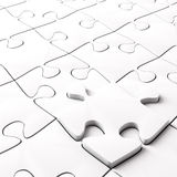 Jigsaw Puzzle Concept for Business Royalty Free Stock Photo