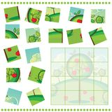 Jigsaw Puzzle game for Children Stock Photos
