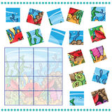Jigsaw Puzzle game for Children Royalty Free Stock Images