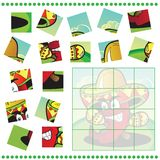 Jigsaw Puzzle game for Children Stock Image