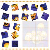 Jigsaw Puzzle game for Children Royalty Free Stock Photography