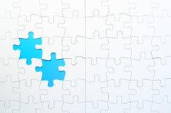 Jigsaw Puzzle Stock Image