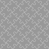 Jigsaw puzzle mosaic seamless background Royalty Free Stock Image