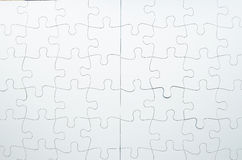 Jigsaw Puzzle. Perfect arrangement of jigsaw puzzle Royalty Free Stock Photography